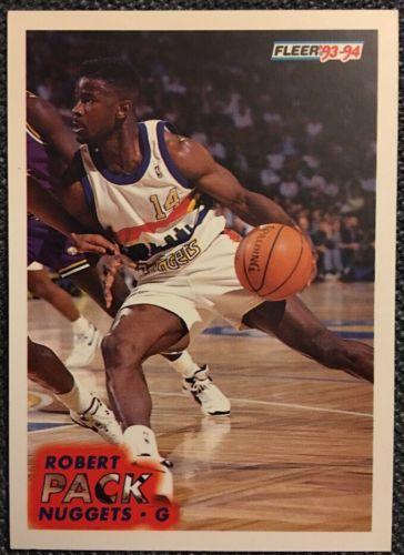 1993 1994 Fleer Robert Pack #55 Basketball Trading Card
