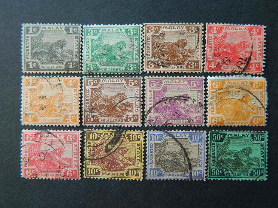 1708  FEDERATED MALAY STATES SC 50//71 (SG 53//74) USED