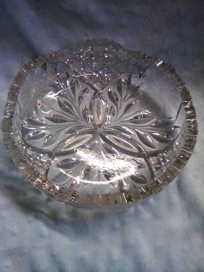 GLASS DECORATIVE CANDY DISH