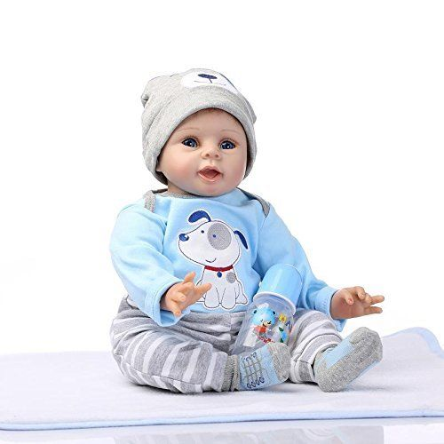 Nicery Reborn Baby Doll Soft Silicone Vinyl, OPEN BOX