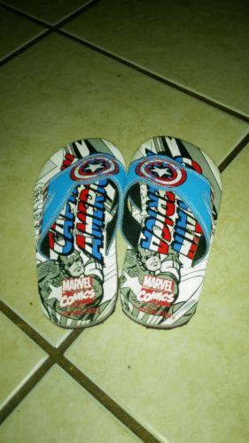 Boys Captain America Sandals
