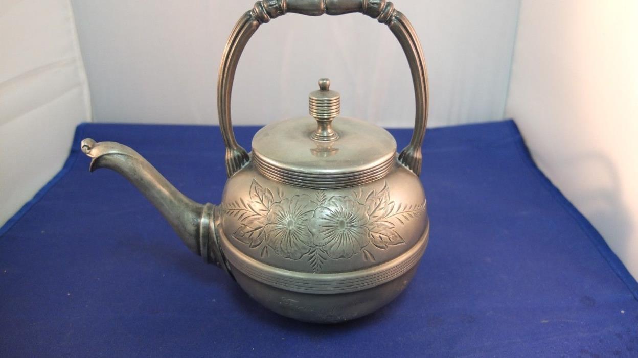 Manhattan Silver Plate CO Teapot