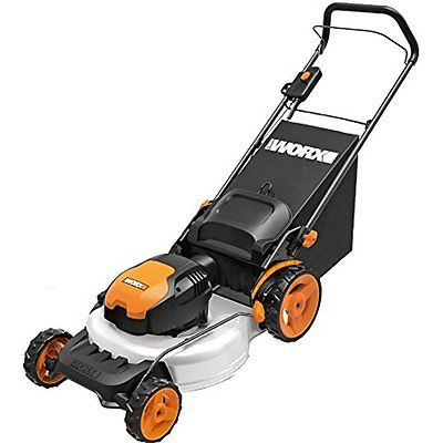 Lawn Mowers Tractors WORX WG720 12 Amp Electric Lawn Mower, 19quot;