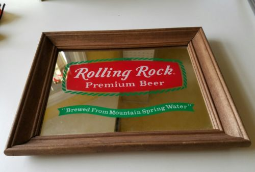 Rolling Rock Beer Mirror For Sale Classifieds