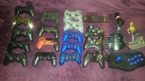 PS3 ps4 xbox one 360 Controllers broken for Parts or repair