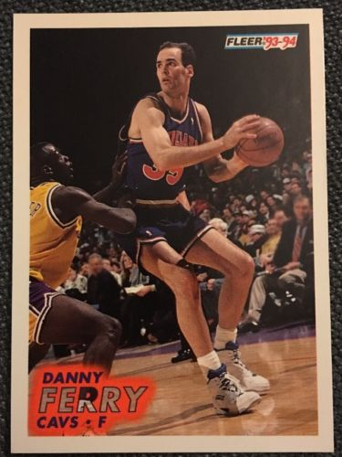 1993 1994 Fleer Danny Ferry #37 Basketball Trading Card