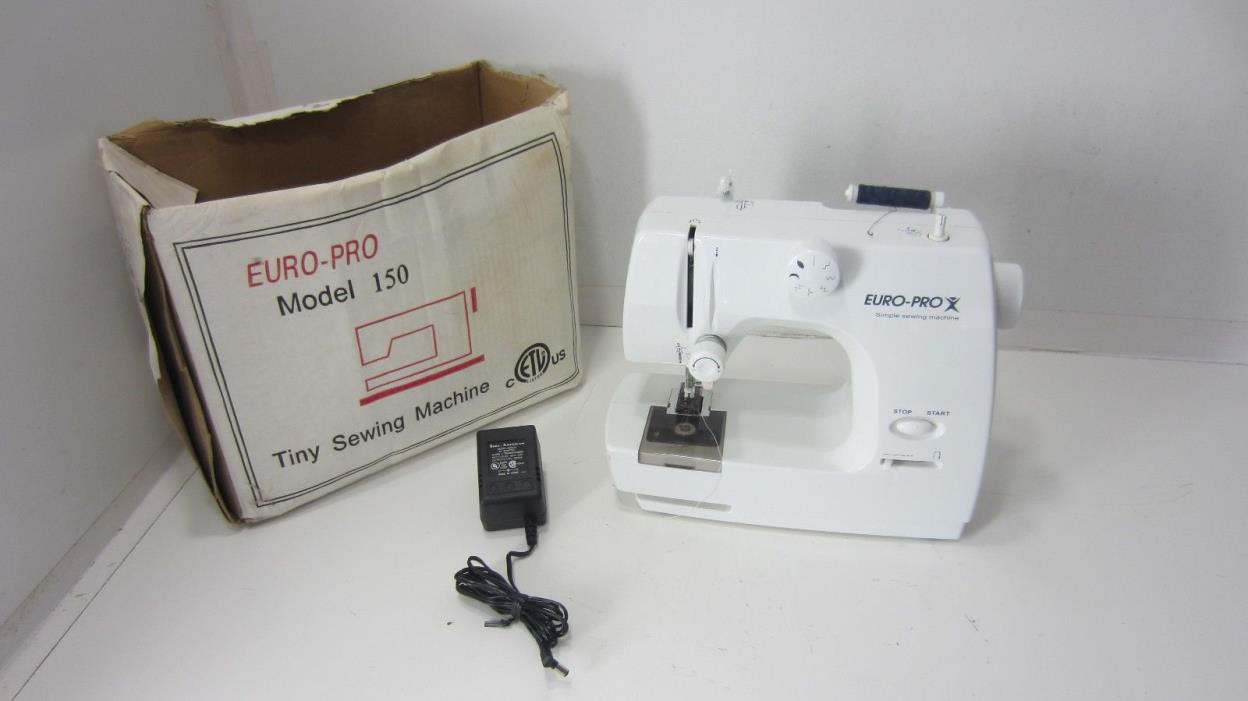 Machine euro pro sewing for sale classifieds for Euro pro craft n sew