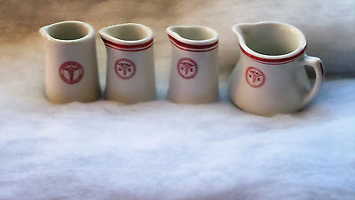 WWII US Army Medical Dept. CREAMERS Officer's Mess  PERFECT!