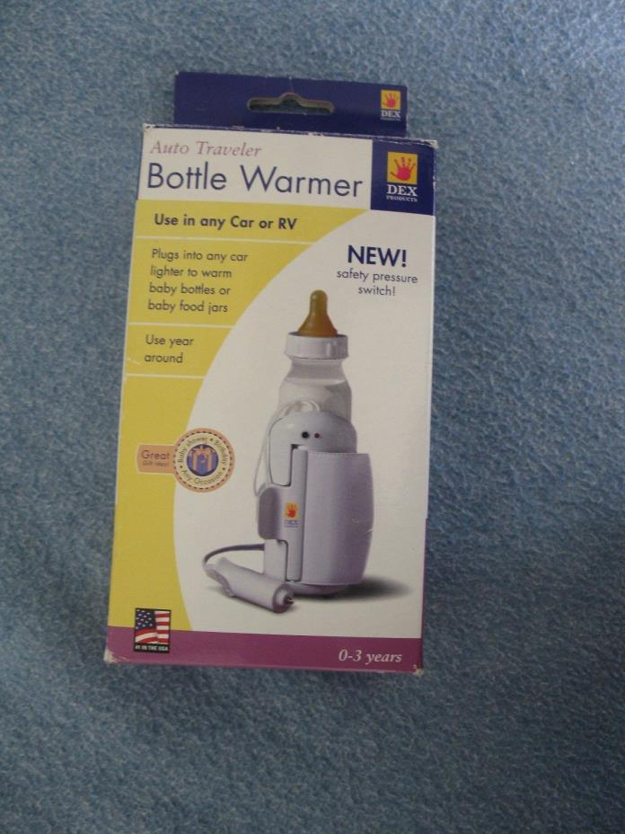 BABY BOTTLE WARMER= Auto Traveler Feeding Bottle , For Car and RV Use==BRAND NEW