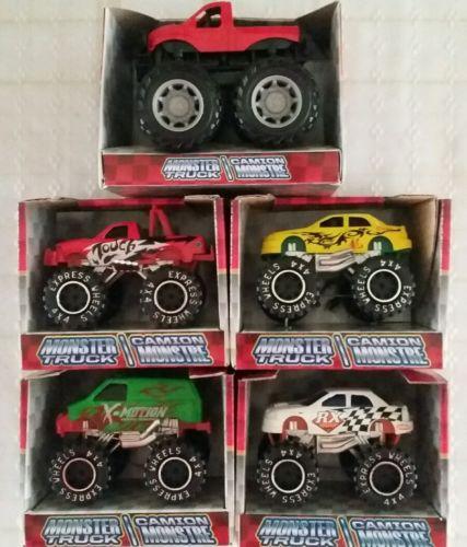 monster trucks lot