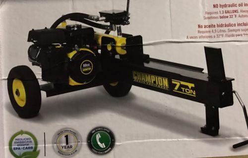 Gas 80cc Champion 7 Ton Compact Portable Log Splitter