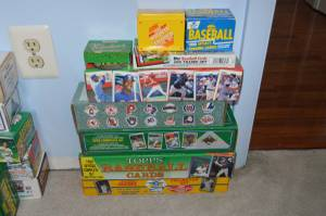 1973, 1974, 1990 - 1993 +, football, baseball, other trading cards (frederick