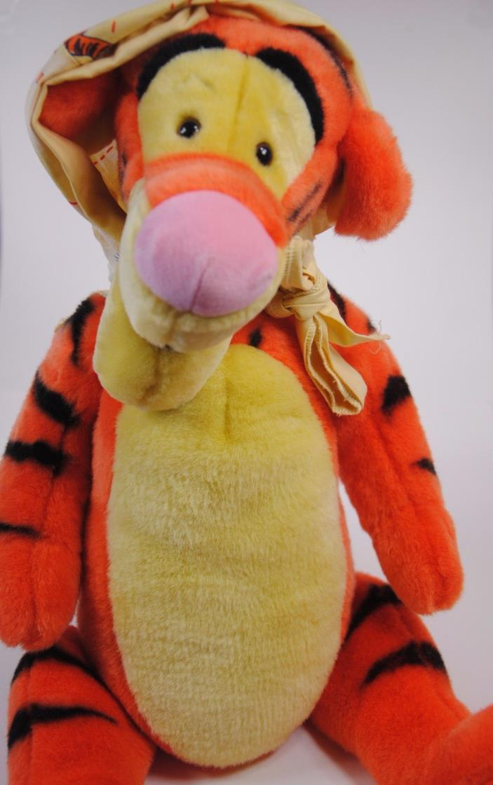 Vintage TIGGER Plush Disney Disney Store GIANT Plush Stuffed Animal Toy