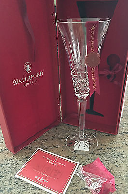 Waterford Crystal 12 Days of Christmas Champagne Flute 8th Edition BNIB