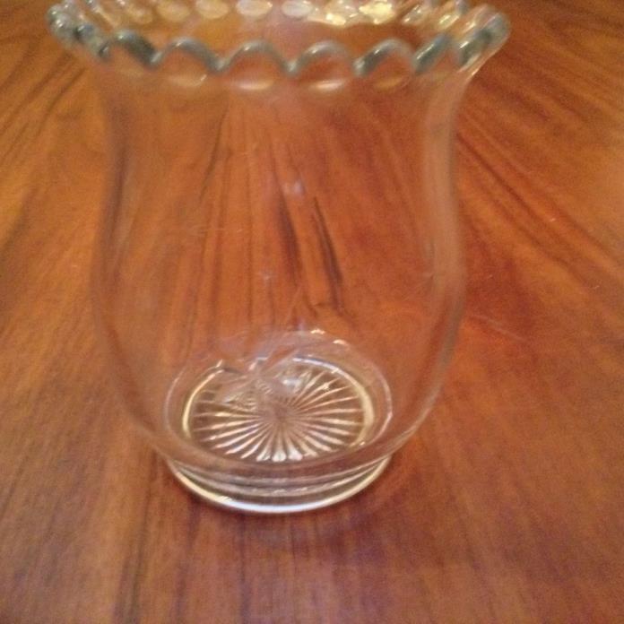 Glass Spoon Holder - Vintage