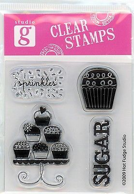 Studio G Cupcakes Clear Stamp Set -VC0004 Series 27