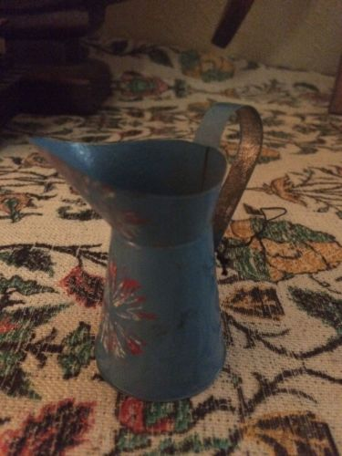 RARE Vintage WATERING CAN Pitcher SPRING Ornament DECORATION Home