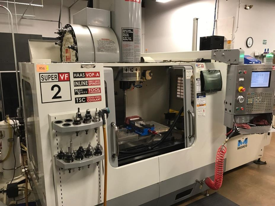 Haas 2006 VF-2SS with Midaco pallet changer