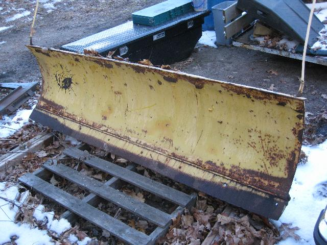 Fisher Plow Blade