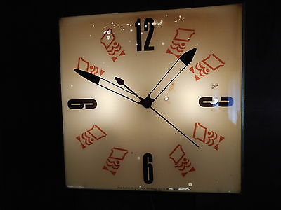 Vintage Mister Donut Pam Clock  RARE