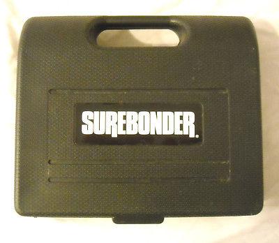 SUREBONDER 9600A PNEUMATIC STAPLER w/NEW ARROW 5,OOO PACK OF T-50 3/8