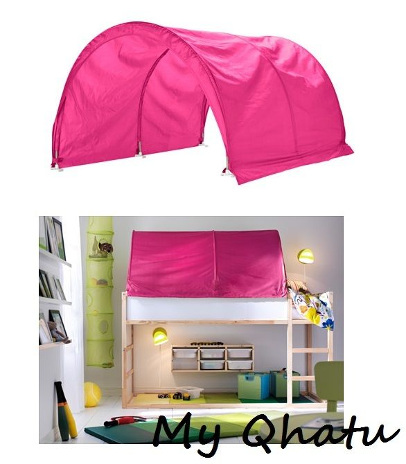 New Ikea KURA Bed tent, Canopy Pink
