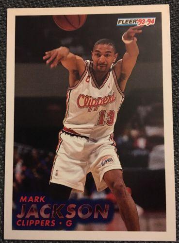1993 1994 Fleer Mark Jackson #92 Basketball Trading Card