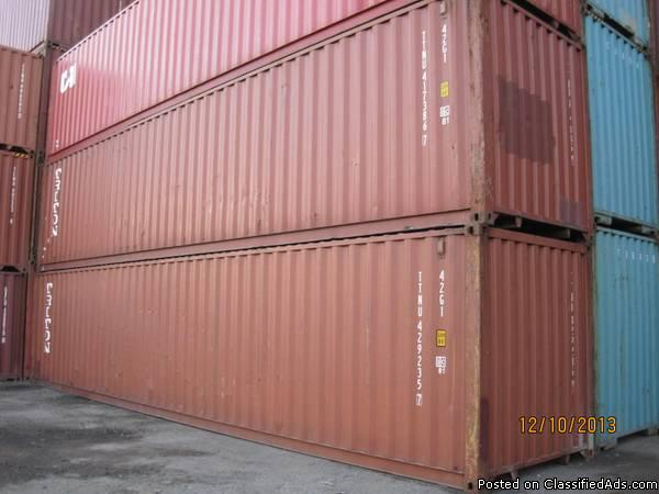 *****SHIPPING CONTAINERS*****
