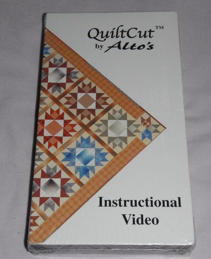 QuiltCut by Alto's, Instructional VHS Video