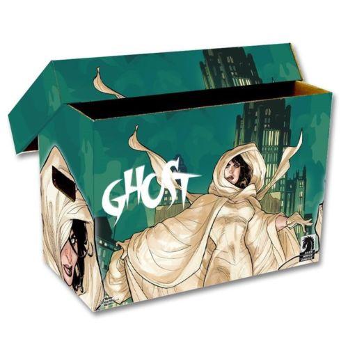 1 BCW Short Cardboard Comic Box with POW Art Design Holds 150-175 Comics