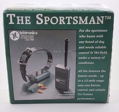TRI-TRONICS THE SPORTSMAN TM DOG TRAINING COLLAR PREOWNED/NEVER USED