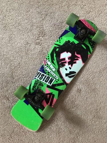 Vision the original '80's Vintage Skateboard GREEN
