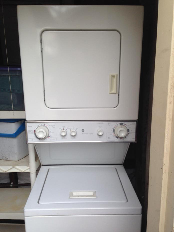 GE Spacemaker Thin Stack Washer & Gas Dryer