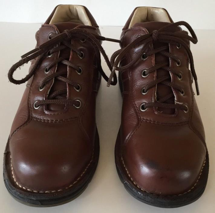 WORX by Red Wing Shoes Men's 5547 Steel Toe Athletic Work Oxford Brown Size 7.5M