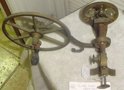 ANTIQUE JEWELERS LATHE