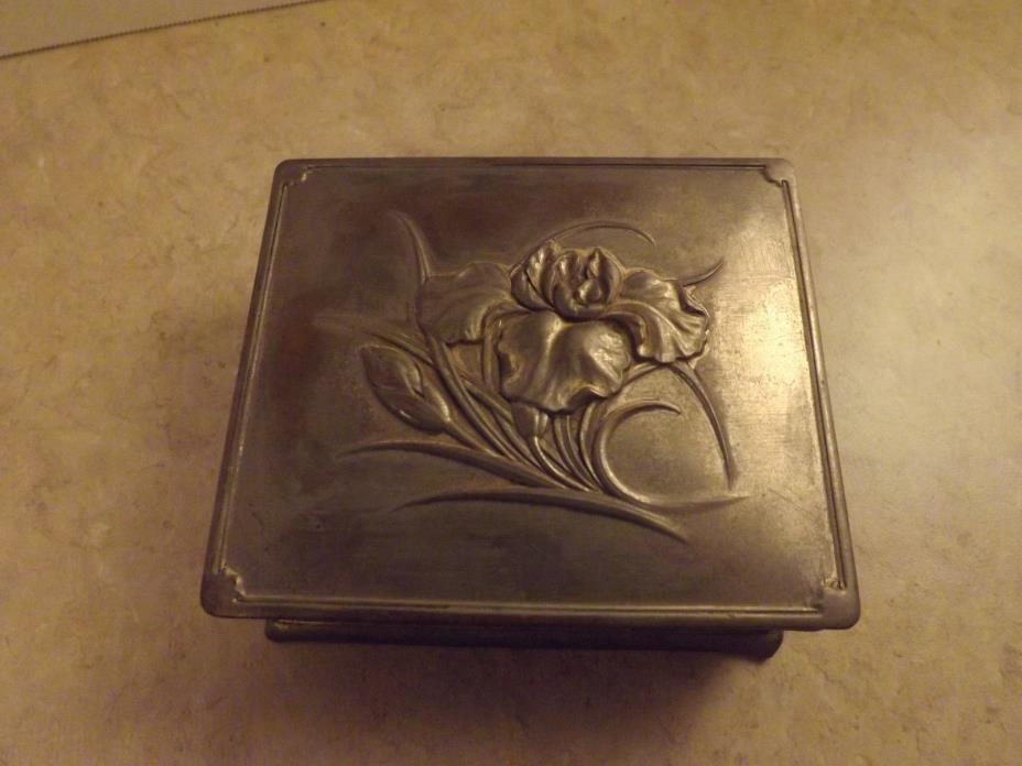 Metal Occupied Japan Trinket Box.