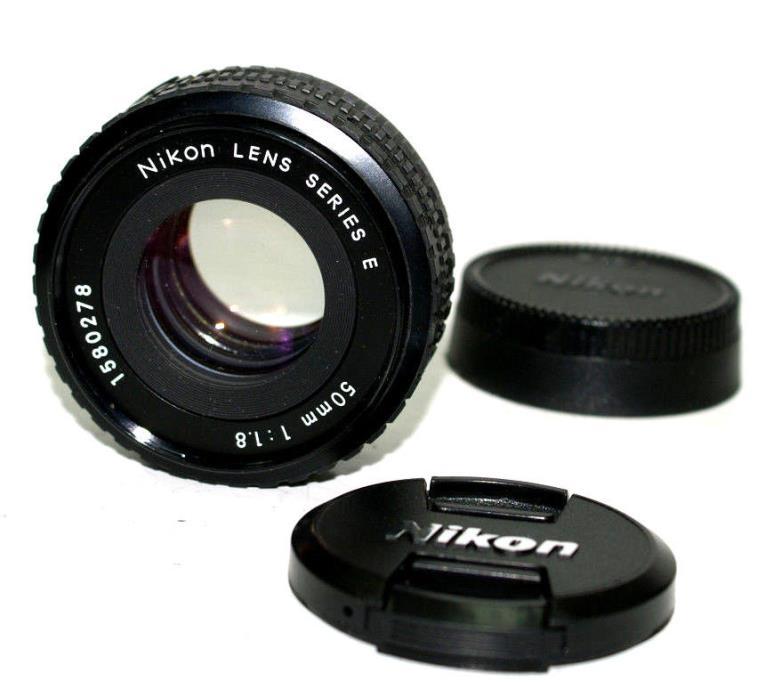 Nikon Series E  50mm  f/1.8 Lens