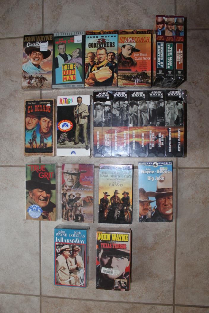western vhs movies for sale classifieds
