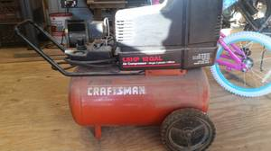 Craftsman air compressor (Sandhill)