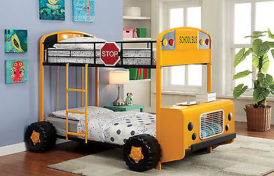 Hokku Designs Bus Driver Twin Bunk Bed
