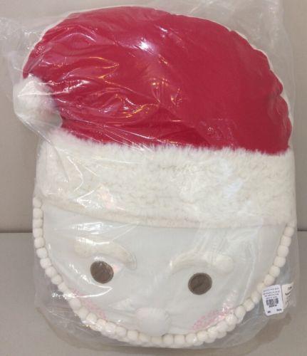 NWT Pottery Barn Kids Holiday SANTA DECORATIVE Throw Pillow 16