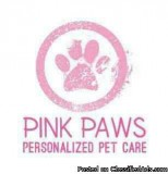 Pink Paws Professional Pet Sitting Walking and Boarding