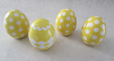 Shabby Chic Ceramic Easter Eggs