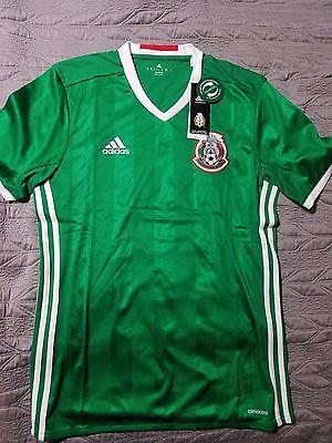 Mexico soccer jersey medium adidas authentic BNWT