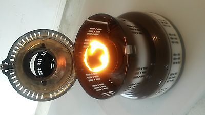 Vintage / Antique Perfection Glass Globe Kerosene Oil Heater