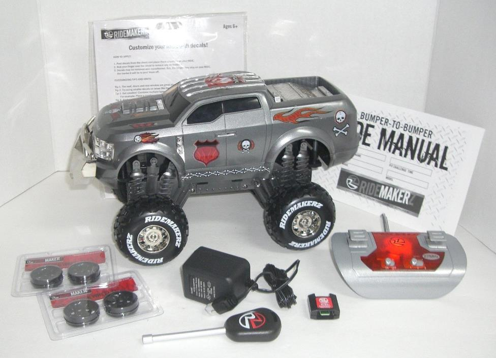RIDEMAKERZ FORD SUPER CHIEF RADIO CONTROL MONSTER TRUCK WITH ACCESORRIES
