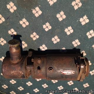 rare generator with power steering pump