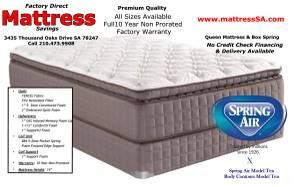 14 inch Super Pillow Top Queen Mattress Set (Mattress In Stock Take Mattress)
