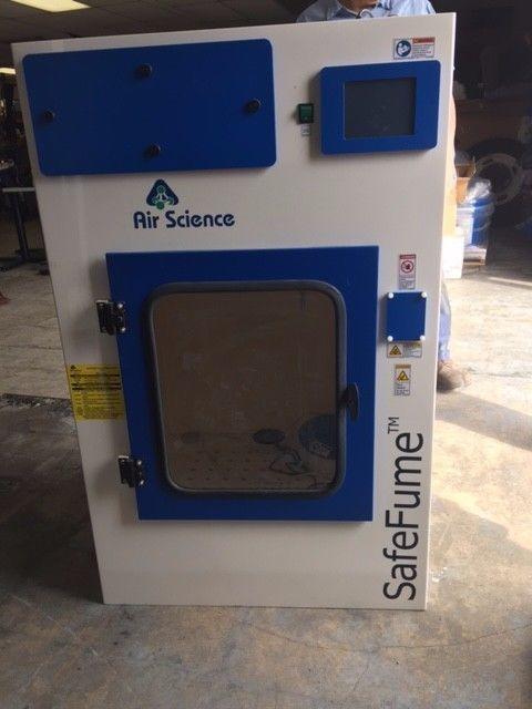 Air Science CA30S SafeFume Cyanoacrylate Fuming Chamber #4 No Cart