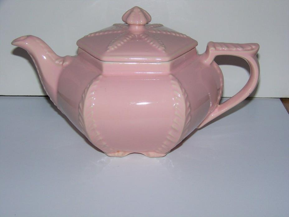Hall China Pink Victorian Style